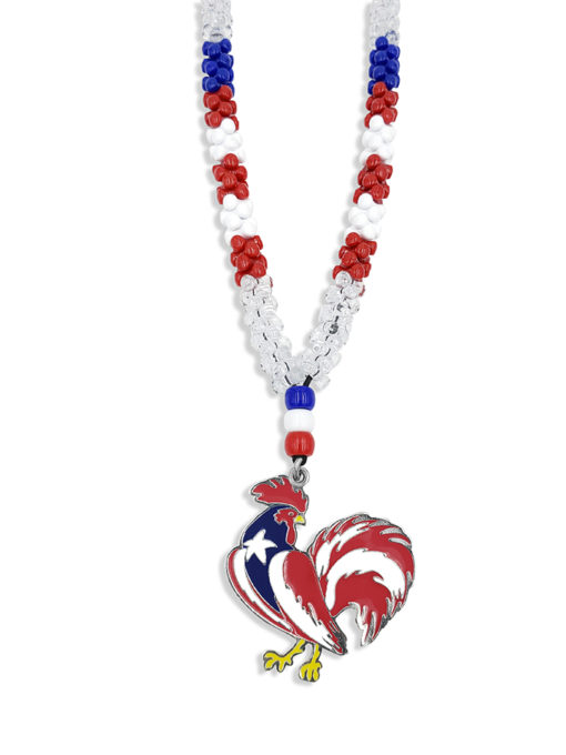 Puerto Rico Rooster Necklace